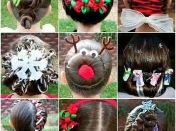 Модели причесок для девочек на длинные волосы
