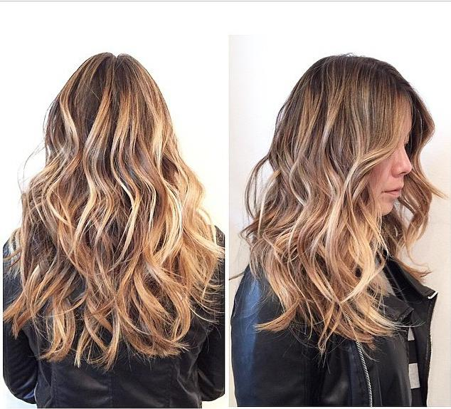 Эффект выгоревших волос, мастер класс для новичков #1