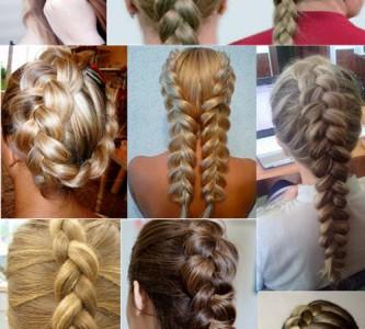 Уроки плетения причесок с французской косой