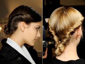 Быстрые, красивые и простые прически на средние волосы