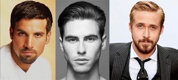 Модные мужские прически круглая голова