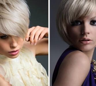 Восстановление и окрашивание седого цвета волос
