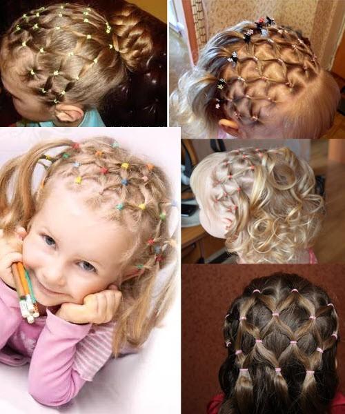 Как сделать детские прически на короткие волосы