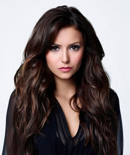 красивые оттенки темных волос фото