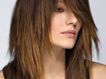 Техника стрижки каскада на средние волосы