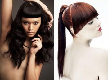 Объемные стрижки для длинных и волнистых волос