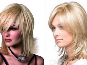 Разновидности стрижек на средние волосы с челкой