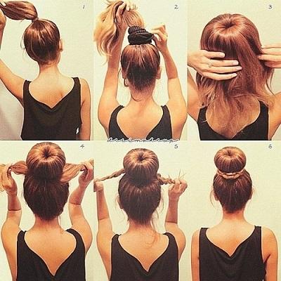 Делаем прическу на длинные волосы: фото причесок 98