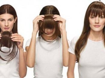 Делаем прически с накладными волосами на заколках