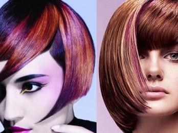 Необычные креативные стрижки для средних волос
