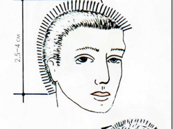 Короткая мужская стрижка «ежик»