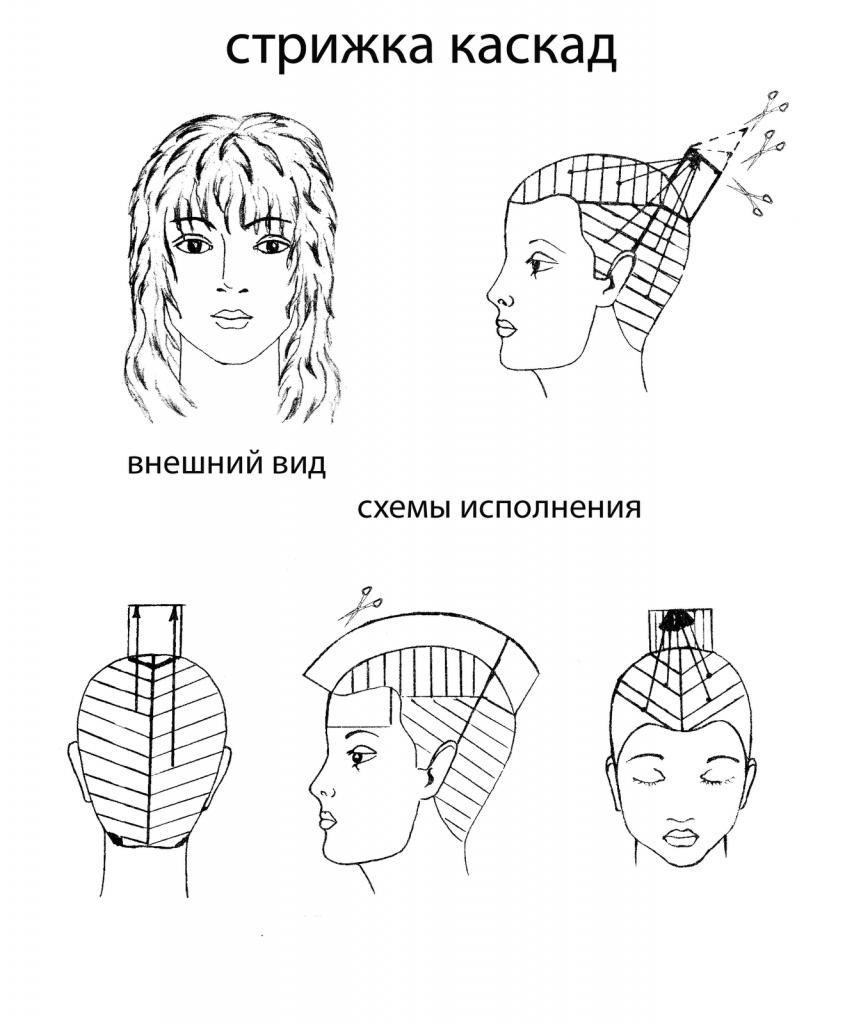 Технология выполнения женских стрижек