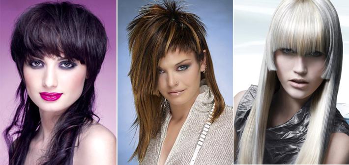 Креативные стрижки для длинных волос