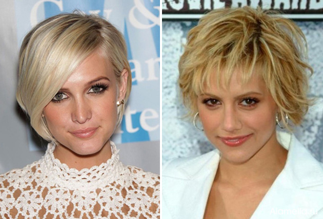 Стрижки для женщин после 40 лет фото на тонкие волосы