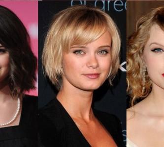 Образцы модных стрижек для средних волос