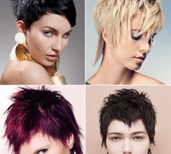 Красивые стрижки для средних волос без челки