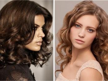Подходящие стрижки для кудрявых волос средней длины