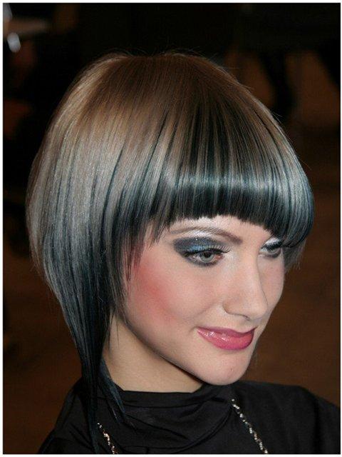 Секреты осветления кончиков волос