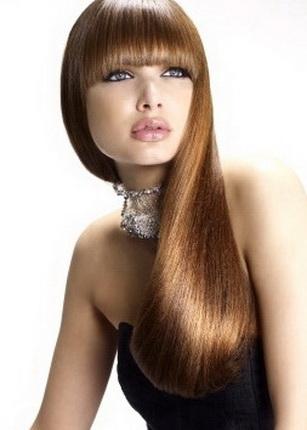 Сооружаем прическу с прямыми волосами