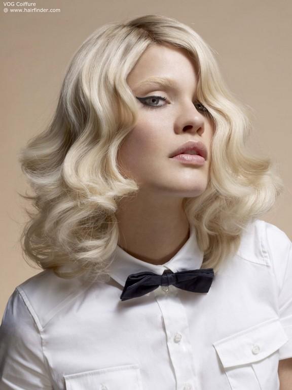 Модные и стильные укладки волос