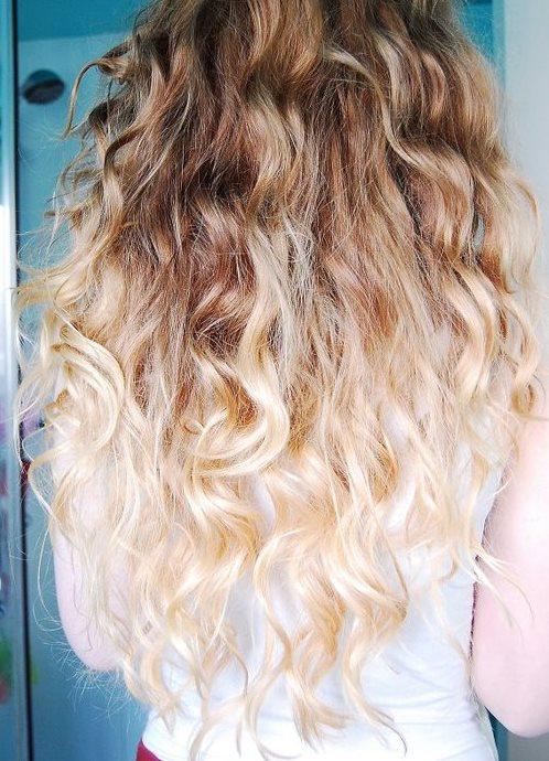 Как в домашних условиях осветлить концы волос