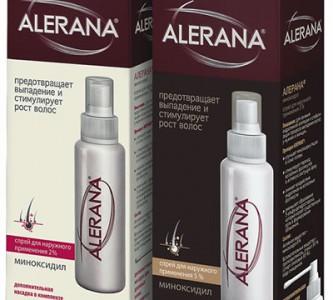 Как пользоваться спреем против выпадения волос «Алерана»?