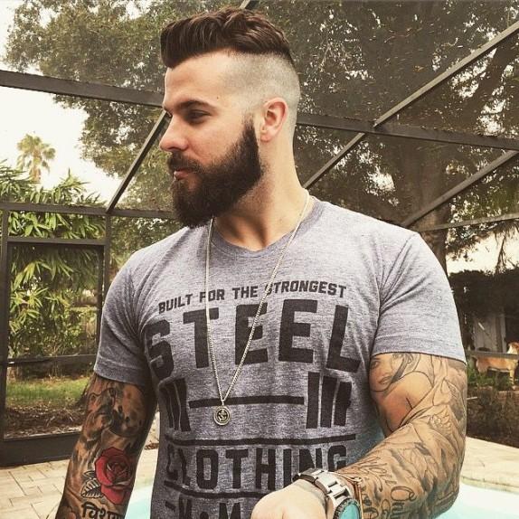 «Ducktail beard»