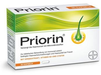 Отзывы об эффективности витаминов для волос Приорин