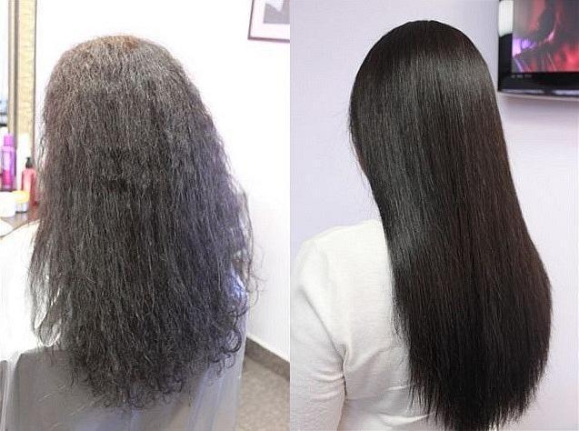 Маски для выпрямления волос в домашних условиях