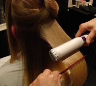 Процедура молекулярного восстановления волос