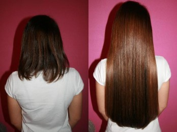 Способы наращивания волос на короткие волосы