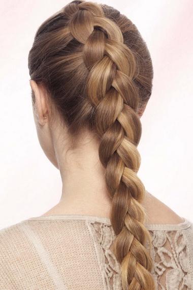 Укладка французская коса