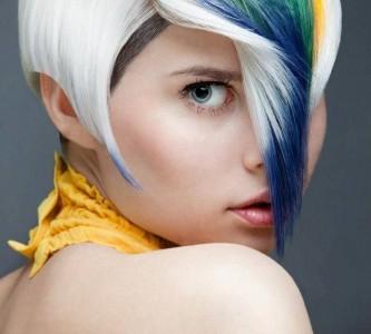 Виды креативного окрашивания волос
