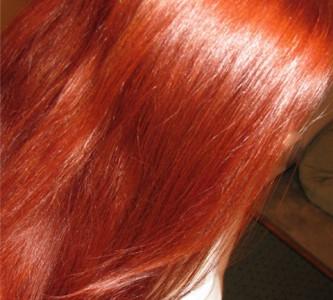 Непроходящая мода на рыжие оттенки красок для волос