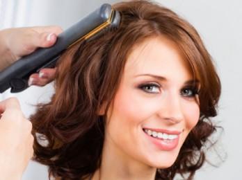 Оригинальный способ завивки волос выпрямителем