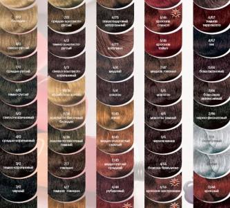 Профессиональная краска для волос Кутрин