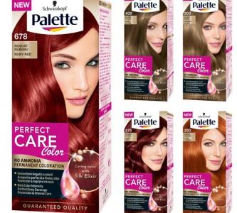 Инструкция по окрашиванию краской для волос Палет (Palette)