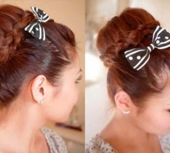 Различные способы красивых укладок волос