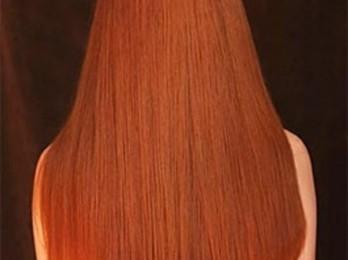 Окраска нарощенных волос на капсулах