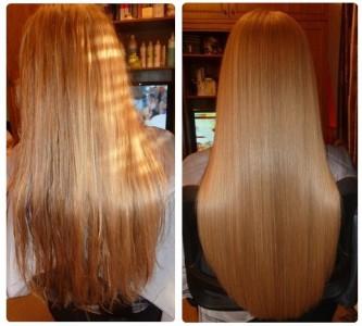 Процедура биоламинирования волос в домашних условиях