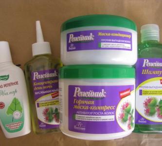 Помощь шампуня «Репейник» против выпадения волос