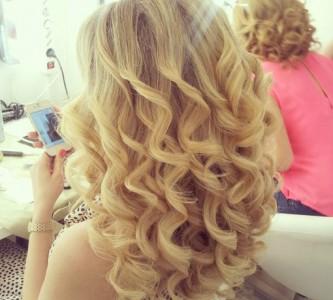 Способы накручивания длинных волос