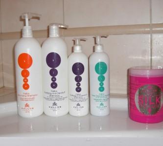 Разнообразие средств и шампуней Каллос для волос