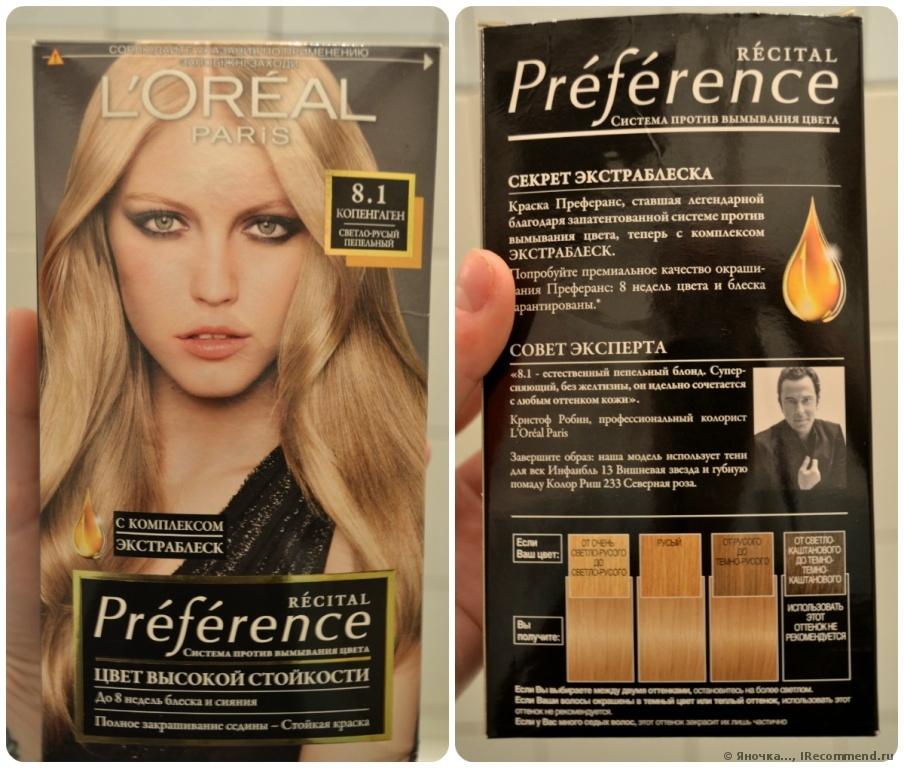 Палитра красок для волос L'Oreal Professionnel