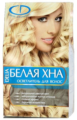 """Белая хна"" Delia Cosmetics"