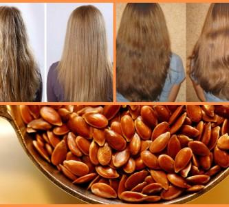 Уникальные свойства льняного масла для волос