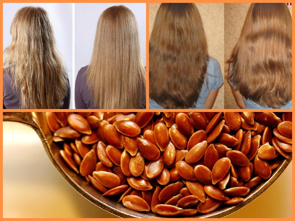 Влияние на волосы - до и после