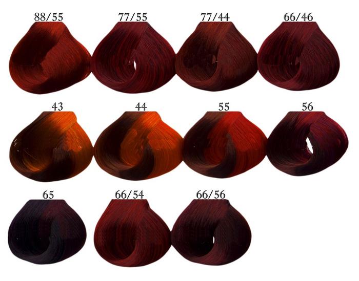 Разнообразие палитры