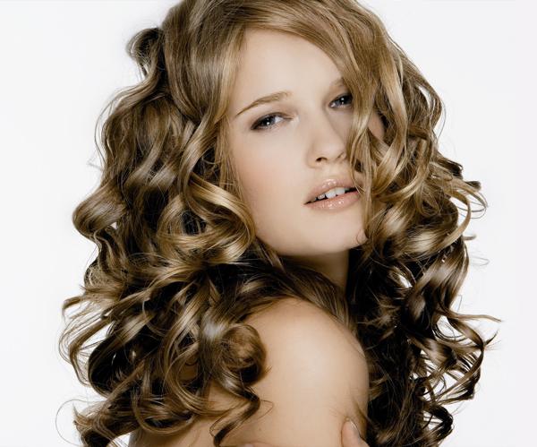 Перманентная завивка волос крупные локоны