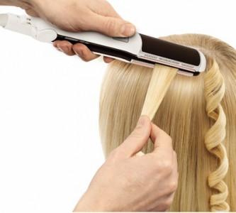 Техника накручивания волос утюжком